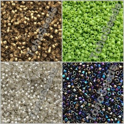 5g Toho Treasure Cylinder Glass Seed Beads size 11/0 Japanese Rocaille 50 COLOR