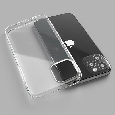 For iPhone XS Max 8 7 6s Case Transparent Crystal Clear Case Hard Plastic Cover