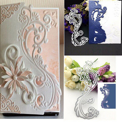 Lace Border Metal Cutting Dies Scrapbooking Embossing Craft Wedding Decor Ornate
