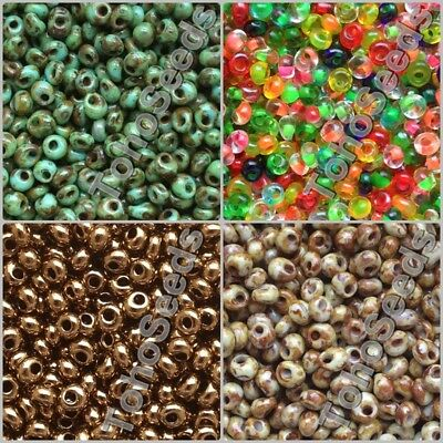 10g Magatama Toho Seed Beads Drop size 3mm Japanese Rocaille Glass 30 COLORS