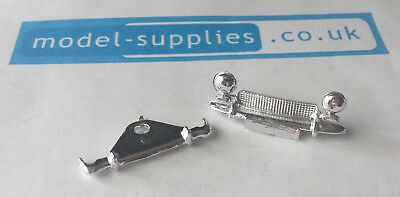 Spot On 219 Austin Healey Sprite Reproduction Chromed Front Grille Rear Bumper