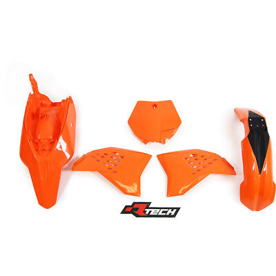 Racetech NEW Mx KTM 65 SX 12-15 RTECH Orange Motocross Dirt Bike Plastics Kit