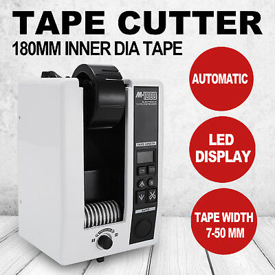 5-999mm Automatic Tape Dispensers Cutter Adhesive AC110V M-1000 3 Digit LED