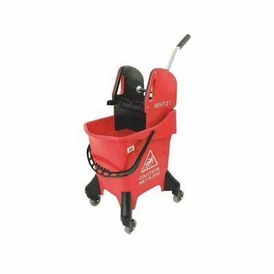 Hygineer Ergonomic Heavy Duty Mop Bucket Red 31 Litre HRMB31/R [CX06293]