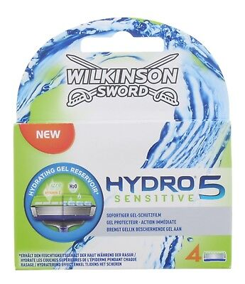Wilkinson Sword Mens Hydro 5 SENSITIVE Razor Blades pack of 4