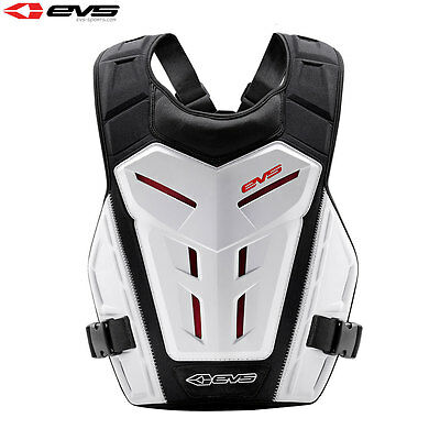 Evs Revo 4 White Adult Body Under Armour Chest Protector Motocross Roost Guard