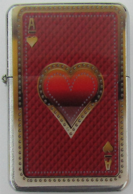 Red Ace of Hearts Star Lighter In Gift Tin