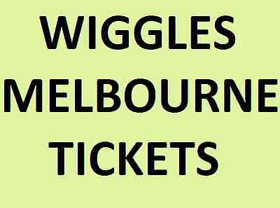 The Wiggles Concert Tickets Melbourne Saturday 2 December 1Pm