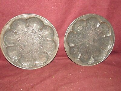 Pair Old or Antique Middle Eastern Islamic Chargers