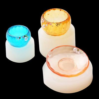 Silicon Resin Casting Plate Mold Jewelry Mould DIY Craft Making X-mas EB