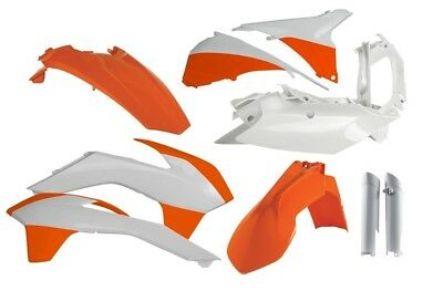 Acerbis Mx KTM EXC EXCF 2014 2015 Dirt Bike OEM '15 Full Motocross Plastics Kit