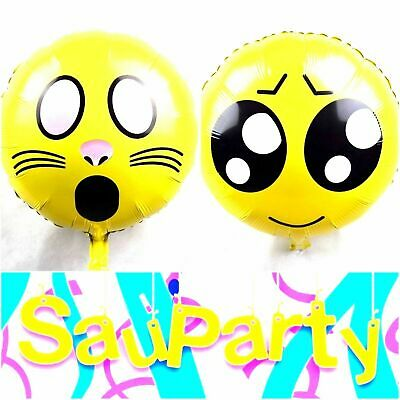 2018 Emoji Smiley Face Balloon Wedding Birthday Party Home