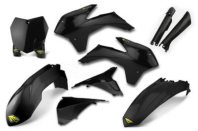 Cycra NEW Mx KTM SX SXF 2013-2015 Full Motocross Black Powerflow Plastics Kit