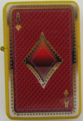 Red Ace of Diamonds Star Lighter In Gift Tin