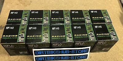 10 x Pack Hiflo Oil Filters HF140 for Yamaha YZF 250 YZF250 2013 2014 2015 2016