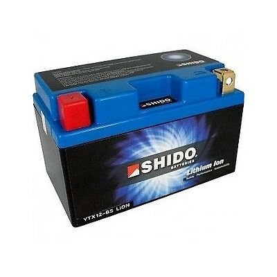 SHIDO LITHIUM BATTERY Super Lightweight For Husqvarna Husky FC250 2016 2017 2018