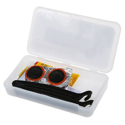 Bicycle Cycle Bike Puncture Repair Outfit Patched Kit Q7Q5