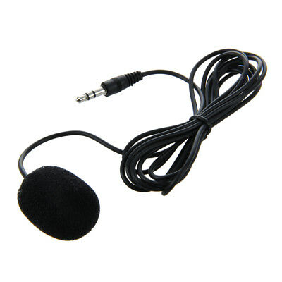 3.5mm Clip on Lapel Microphone for PC Laptop G6L8