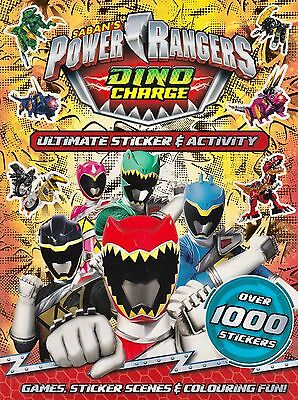 Saban's Power Rangers Dino Charge Ultimate Sticker & Activity Book NEW P/B 2016)