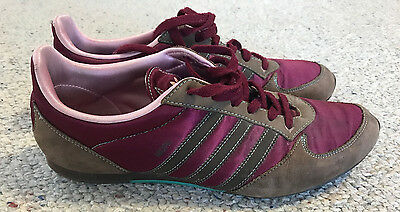 Women's Maroon Adidas Shoes / Sneakers size 8