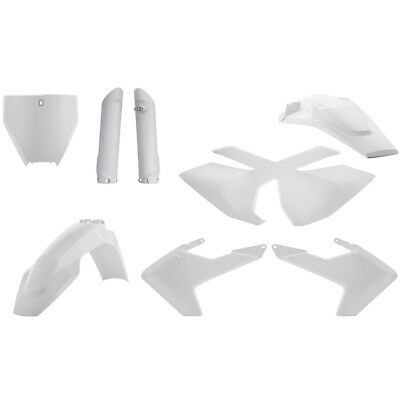 Acerbis NEW Husqvarna TC FC 125 250 350 450 2016 2017 Full White Plastics Kit