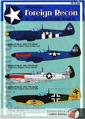 Rising Decals Foreign Recon 1/72 decals