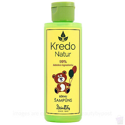 BABY SHAMPOO with 99% natural ingredients and Banana flavour, 150ml Dzintars