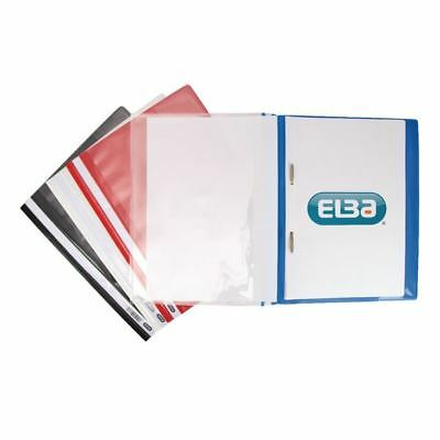 Elba A4 Assorted Pocket Report File Pack of 25 400055040 [DB257900]