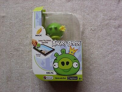 Mattel Angry Birds Magic Apptivity With King Pig Works With Ipad Packaging Tatty