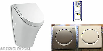 Geberit Urinal Element with Finishing set + Lid Concealed cistern Original