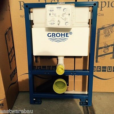 Grohe Rapid SL Concealed cistern 820 mm Height+WC 48cm Projection Duravit D-Code