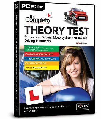 The Complete Driving Theory Test PC Edition - GorillaSpoke Free P&P Worldwide!