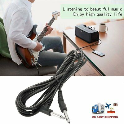 10Ft 3M New Guitar Amplifier Amp Cable Electric Patch Lead Cord Connecting Wire