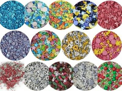 Sprinkletti Cake Cupcake Sprinkles Decorations Toppers 100g Halloween Christmas