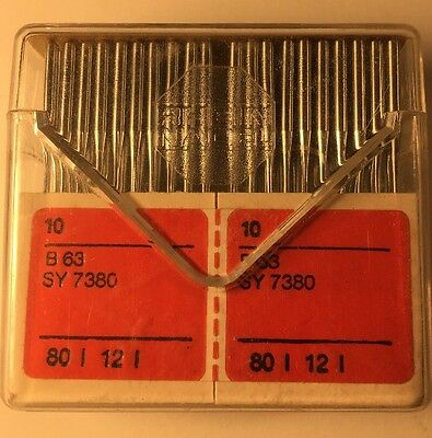 BOX OF 100 INDUSTRIAL SEWING NEEDLES 81X1 SIZE 75//11 -FREE SHIPPING