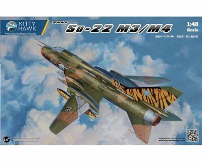 Top Neuheit ! Kitty Hawk 80146 Sukhoi Su-22 M3/m4 1/48 Nva Version ! Top Decals