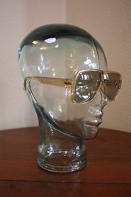 Cool Ray 381 True Vtg Hip Mod Yellow Amber Plastic Sunglasses Retro Cool 1960s