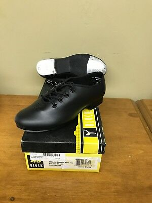 New Bloch Student Jazz Tap Dance Shoe 3710L Black Lace Up Youth Multiple Sizes