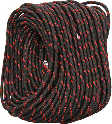 Live Fire 31 Black/Red FireCord Fire Tinder Inner Strand - 100 Feet Length