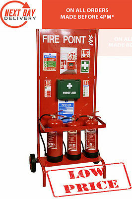 Mobile Fire Point Trolley / Stand / Free 24 Hr Delivery