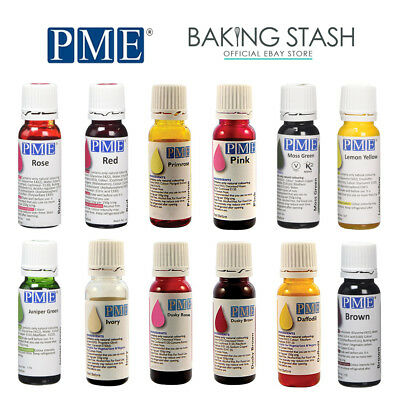 PME 100% Natural Food Colours Colouring - 25g