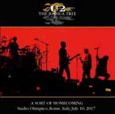 U2 A Sort of Homecoming 2CD Live Roma Stadio Olimpico Rome July 16 2017 PREORDER