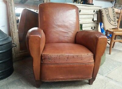 French Vintage Club Chair.