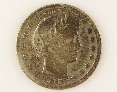 1915 S US Quarter Dollar Coin
