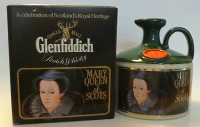 GLENFIDDICH Mary Queen of Scots Flagon from1980s  Sealed 750ml