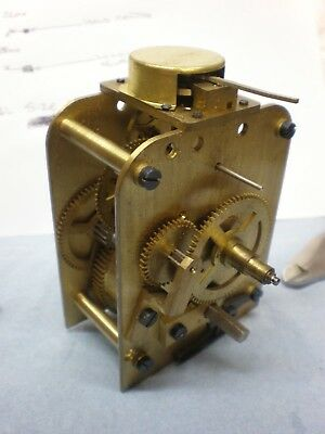 SMITHS ASTRAL 8 Day Ships Clock Movement & Platform Escapement Working part wall