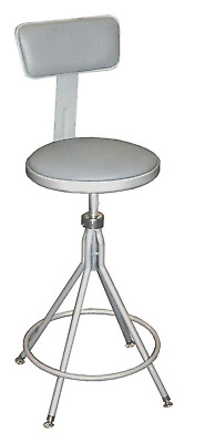 New! National Public Seating Adjustable Height Round Drafting Stool, 6524Hb