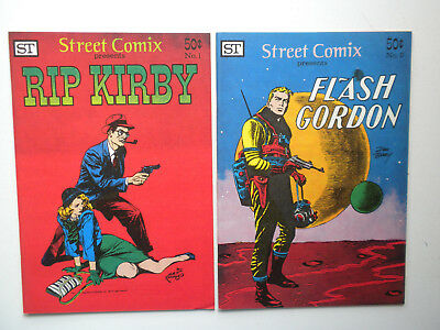 Flash Gordon Rip Kirby Street Comix Alex Raymond King Features