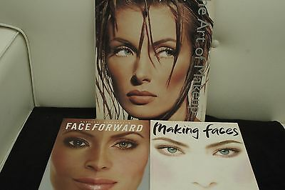 The Art of Makeup, Face Forward, Making Faces by Kevyn Aucoin  LOT/COLLECTION!