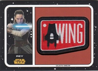 Star Wars Journey To The Last Jedi - Rey Galactic Emblem Mp-Re